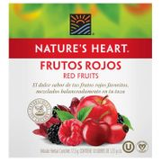 INFUSION FRUTOS ROJOS 17.5 GR marca Nature's Heart