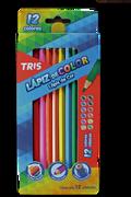 KIT 3 SET 12 Colores Mega TRIS