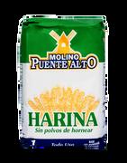 HARINA SIN POLVOS DE HORNEAR (1kg) marca Molino Puente Alto