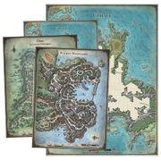 Dungeons and Dragons Set de mapas de la Tumba de la Aniquilación