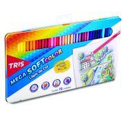Lápices Color Mega Soft 72 Colores