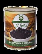 ACEITUNAS NEGRAS DESHUESADAS (3,1kg) marca El Búho