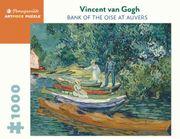 Puzzle Rompecabezas 1000 Piezas de Van Gogh Bank of the Oise - Van Gogh, Vincent - Pomegranate