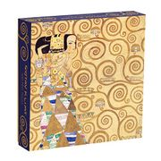 Klimt Expectation 500 Piece Puzzle - Galison - Mudpuppy Press