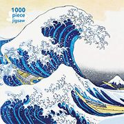 Adult Jigsaw Puzzle Hokusai: The Great Wave (1000-Piece Jigsaw Puzzles) (libro en Inglés) -  - Flame Tree Publishing