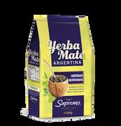 YERBA MATE ARGENTINA hierbas serranas (250g) marca Supremo