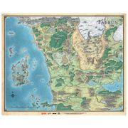 Dungeons and Dragons Mapa de Faerûn