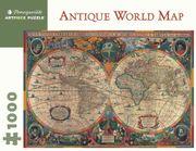 Puzzle Rompecabezas 1000 Piezas de Antique World Map - gina bostian - Pomegranate