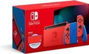 Nintendo™ Switch 32GB color Mario: Rojo y Azul Edition