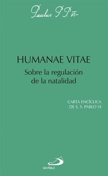 portada Humanae Vitae: Sobre la Regulación de la Natalidad (Encíclicas-Documentos)