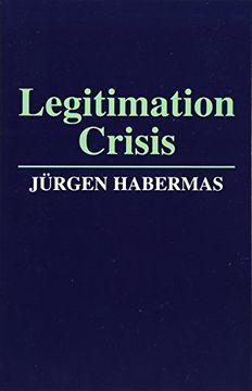 portada Legitimation Crisis (libro en Inglés)
