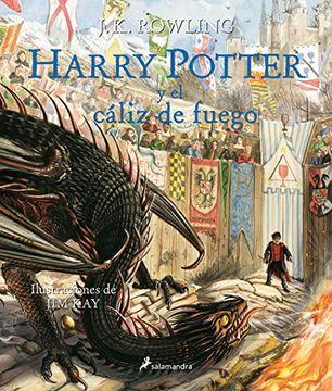 portada HARRY POTTER Y EL CALIZ DE FUEGO (ILUSTRADO)