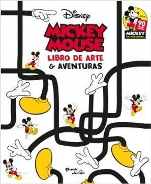 portada Mickey Mouse. El Libro de Arte y Aventuras