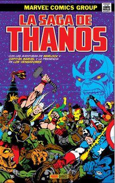 portada La Saga de Thanos