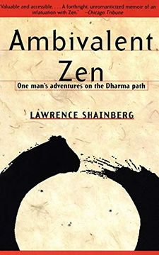portada Ambivalent zen: One Man's Adventures on the Dharma Path (libro en Inglés)