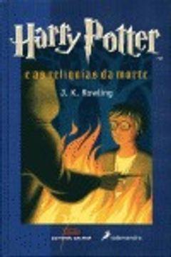 portada Harry Potter e as reliquias da morte