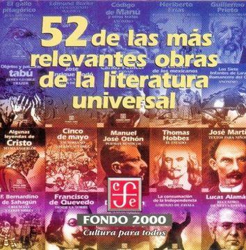 portada 52 de las más Relevantes Obras de la Literatura Universal () ()