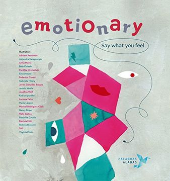 portada Emotionary: Say What you Feel (libro en inglés)