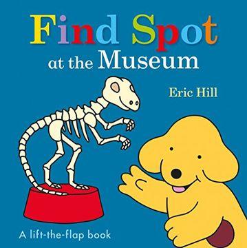 portada Find Spot at the Museum (libro en Inglés)