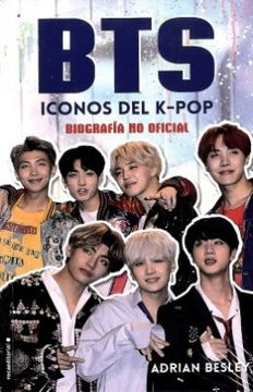 portada Bts Iconos del k pop Biografia no Oficia