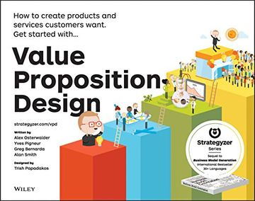 portada Value Proposition Design: How to Create Products and Services Customers Want (The Strategyzer Series) (libro en Inglés)