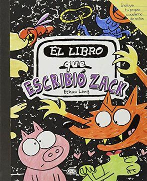 portada El Libro que Escribio Zack