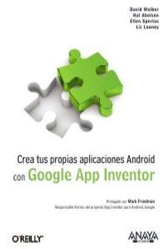 portada crea tus propias aplicaciones android con google