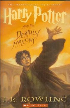 portada harry potter and the deathly hallows