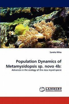 portada population dynamics of metamysidopsis sp. novo 4b