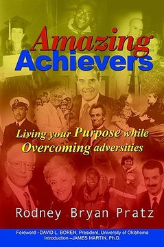 portada amazing achievers: living your purpose while overcoming adversities