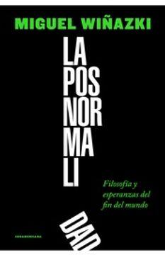 portada Posnormalidad, la