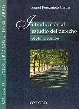 portada Introduccion al Estudio del Derecho