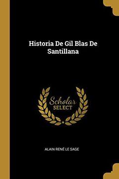 portada Historia de Gil Blas de Santillana