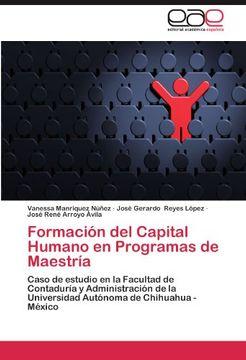 portada formaci n del capital humano en programas de maestr a