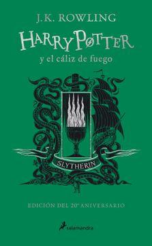 portada Harry Potter y el Cáliz de Fuego (Edición Slytherin 20 Aniversario)