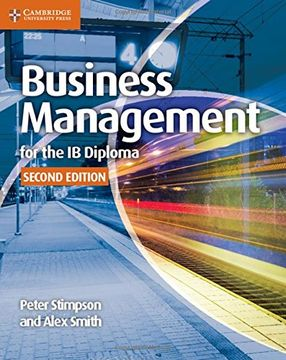 portada Business Management for the ib Diploma (libro en Inglés)