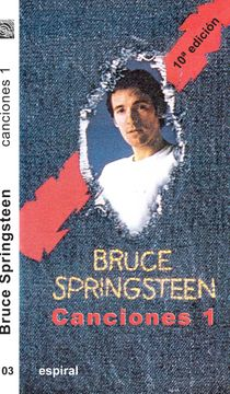 portada Canciones i de Bruce Springsteen (Espiral / Canciones)