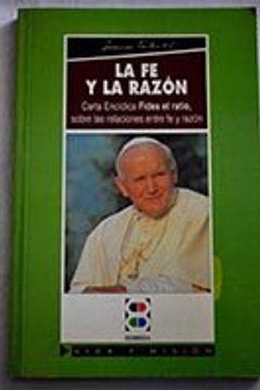 portada Fides er Ratio: Carta Encíclica sobre las relaciones entre fe y razón (Magisterio de la Iglesia)