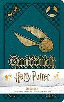 portada Harry Potter: Quidditch Hardcover Ruled Journal (libro en Inglés)