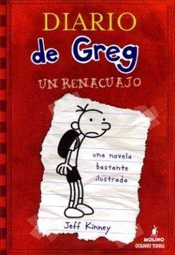 portada Diario de Greg 1: Un Renacuajo - del Nuevo Extremo #