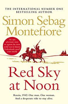 portada Red Sky at Noon (The Moscow Trilogy) (libro en Inglés)