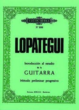 portada Introducción al estudio de la guitarra: Método preliminar progresivo (MONTSE GUASCH ESCOFET)