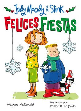 portada Judy Moody & Stink: Felices Fiestas (Judy Moody 9)