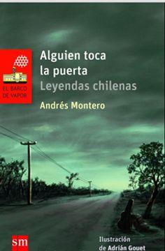 portada Alguien Toca la Puerta. Leyendas Chilenas (libro en Castellano.)