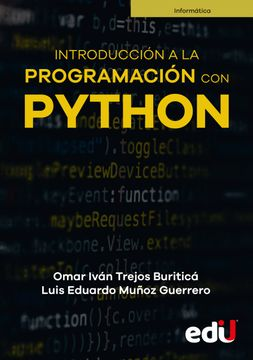 portada Introducción a la programación con Python