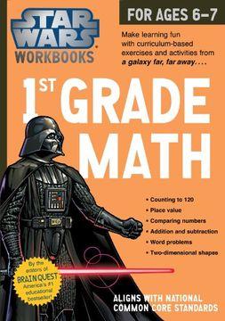 portada Star Wars Workbook: 1st Grade Math (Star Wars Workbooks)