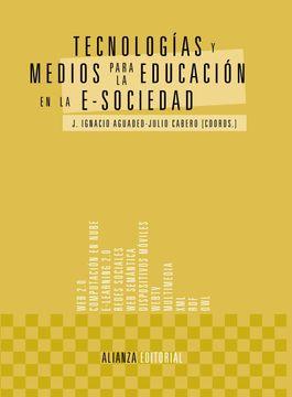 portada Tecnologías y Medios Para la Educación en la E-Sociedad