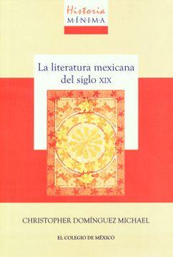 portada Historia Minima de la Literatura Mexicana del Siglo xix