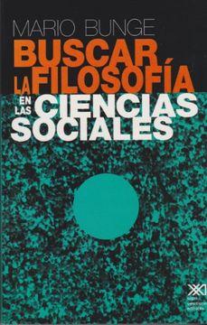 portada Buscar la Filosofia en las Ciencias Sociales