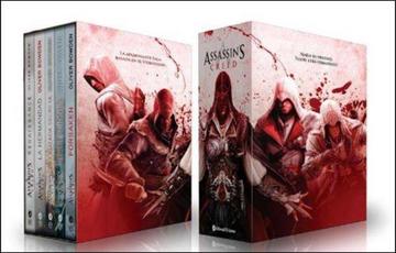 portada Assassin s Creed box set (5 Novelas Completas)